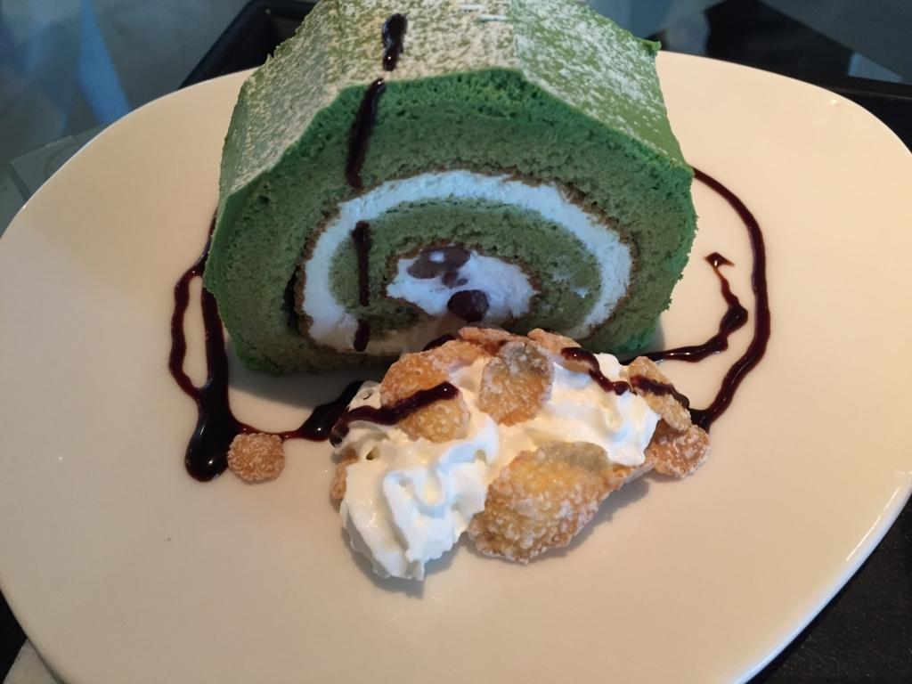 bancafeのブレンドコーヒーと特製ケーキ(青森市)