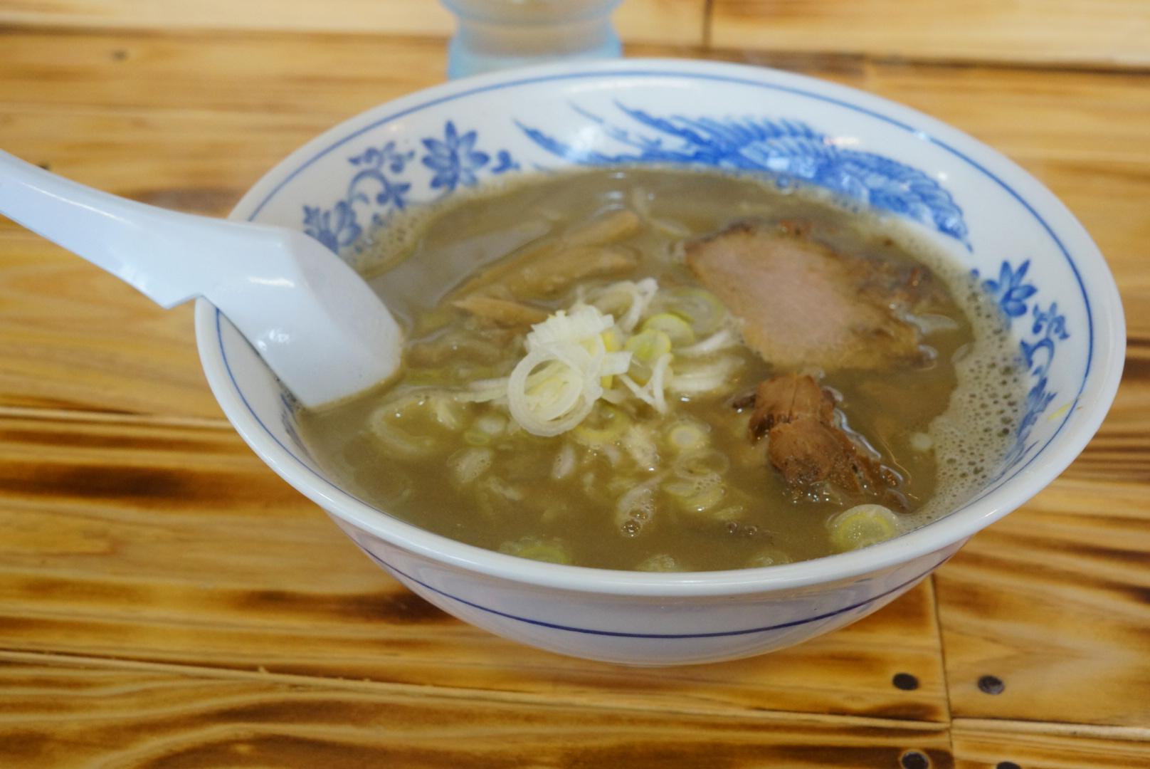 魚醤ラーメン ひいらぎの濃香煮干(秋田県大館市)