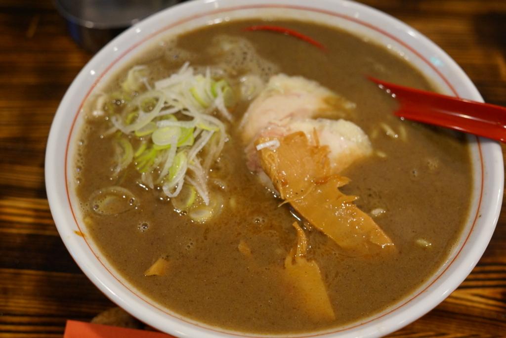 中華×バルABOYAのABO煮干しラーメン(弘前市)