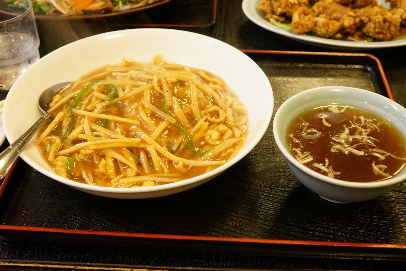 みんぱいの糸肉かけめし食べましょう(弘前市)