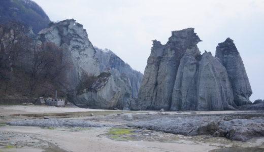 仏ヶ浦の奇岩(佐井村)
