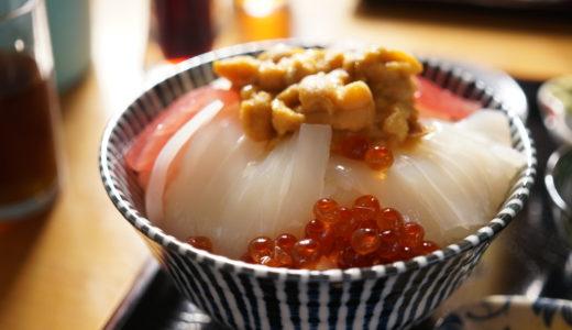 ぬいどう食堂の歌舞伎丼(佐井村)