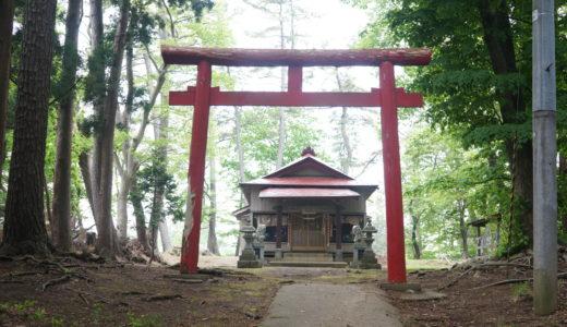 津軽三十三観音第6番 高倉神社 湯舟観音堂(鰺ヶ沢町)