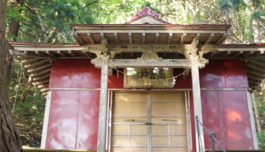 津軽三十三霊場第8番 日照田観音 高倉神社(鰺ヶ沢町)