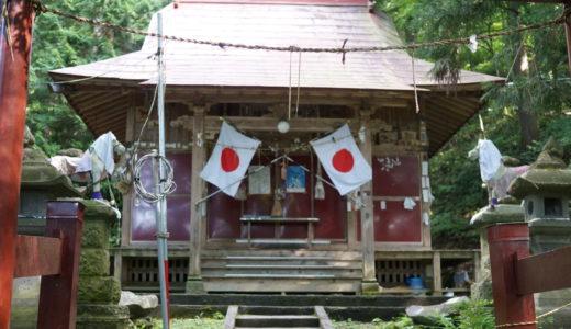 津軽三十三霊場27番 白山姫神社 袋観音堂(黒石市)