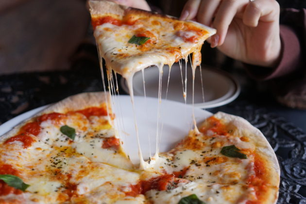 ル・グレのマルゲリータはチーズたっぷりでとても美味しいです