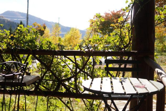 ル・グレのベンチ
