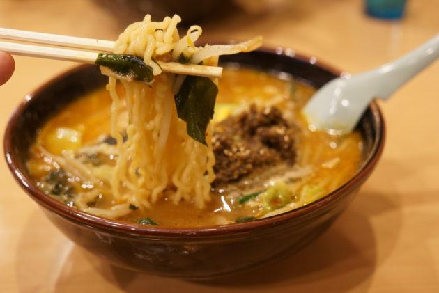 さんくまむのガツンとニボ味噌の麺リフト