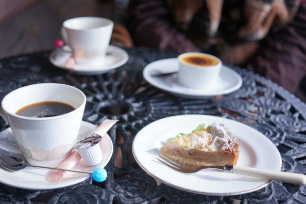 ル・グレのコーヒーとスイーツ