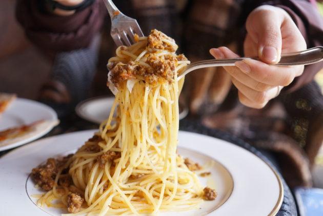 ル・グレのラグーの麺リフト