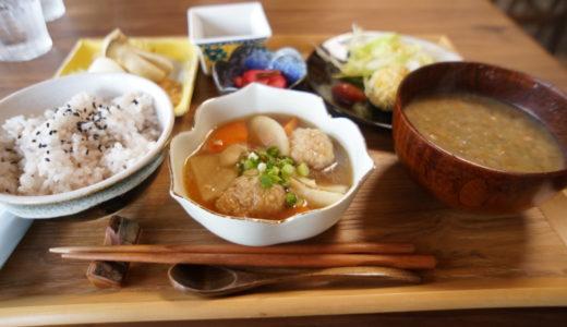 古民家カフェ 山の子の発酵食品を使った身体にうれしい御膳(弘前市)