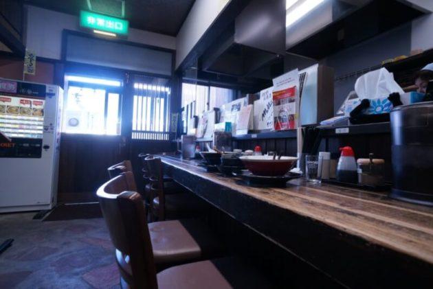 文四郎の店内の写真