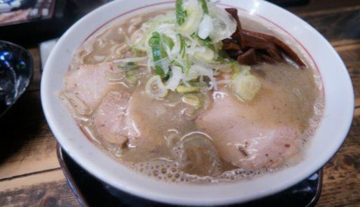 中華そば 文四郎で身体に優しい無化調ラーメン食べましょう(弘前市)