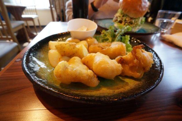 ユイットデュボワ 八幡崎店のフィッシュアンドチップス