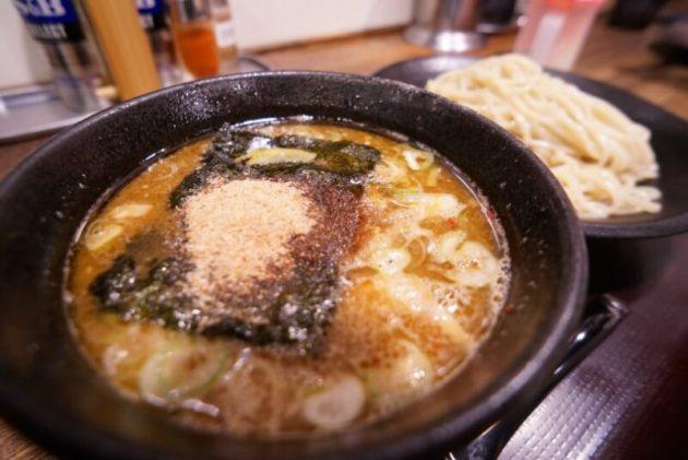 麺屋幡 弘前店のつけ麺並