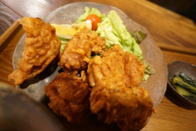 八甲田食堂の唐揚げアップ