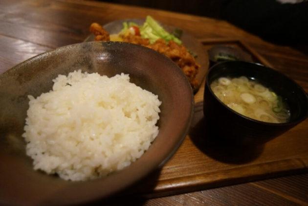 八甲田食堂の唐揚げ定食