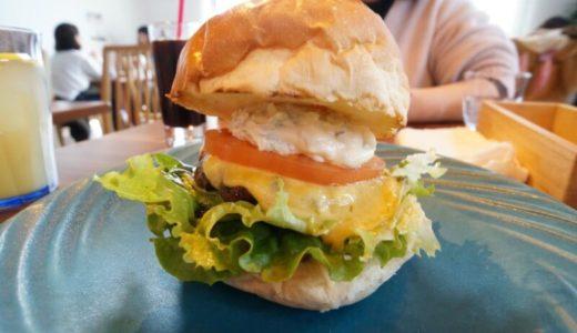 ユイットデュボワ 八幡崎店で特製ハンバーガー食べましょう(平川市)