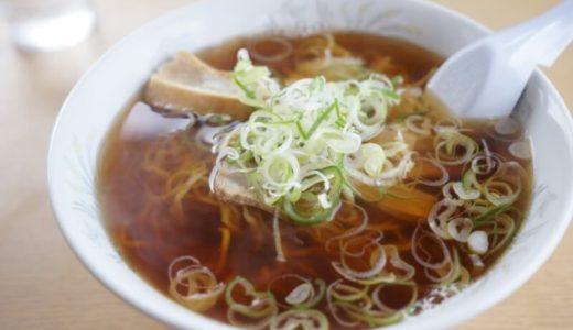 文ちゃんラーメンの手打中華は煮干しが香る懐かし味です(弘前市)