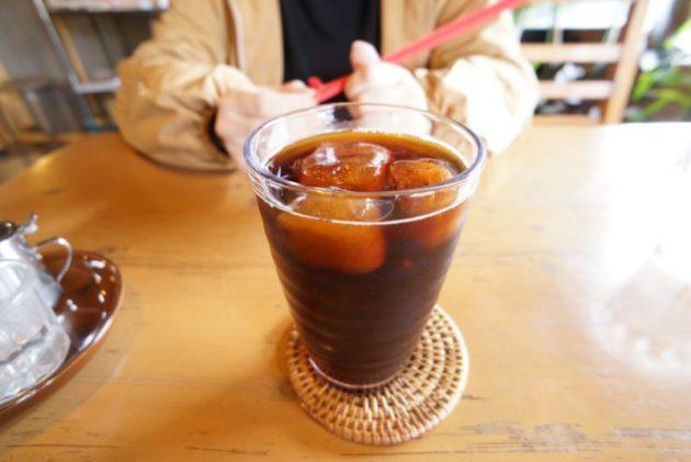 けや木のアイスコーヒー