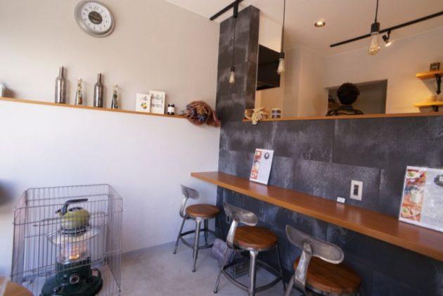 Café draw&co.の店内