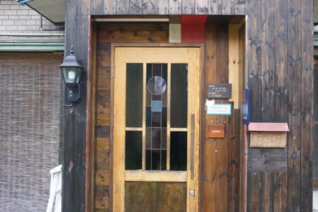 カフェ・ルーラルの玄関2