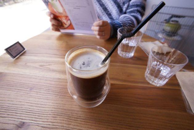 Café draw&co.のレギュラーアイスコーヒー