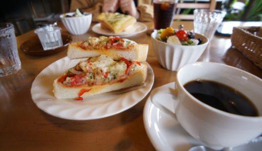 けや木の自家焙煎コーヒーとピザトーストを食べましょう(弘前市)