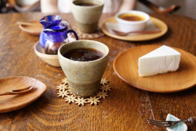カフェ・ルーラルのスイーツとコーヒー