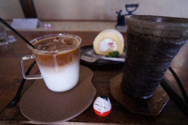 大内宿のカフェ分家玉やのコーヒー達