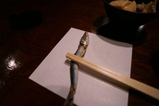 北野水産の箸置きが煮干し
