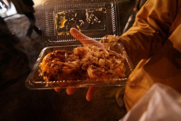 弘前さくらまつり2019大阪焼食べるよね