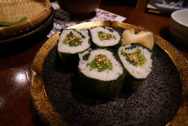 北野水産の青菜巻き