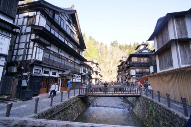 銀山温泉の景色1