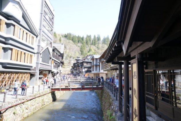 銀山温泉の景色5