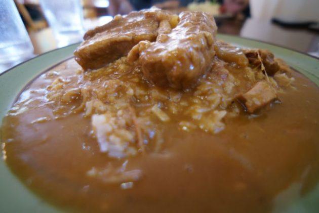 カレー&コーヒー かわしまのカレーライスのホロホロ肉