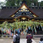 大崎八幡宮の御社殿