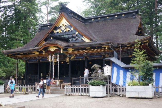 大崎八幡宮の御社殿2