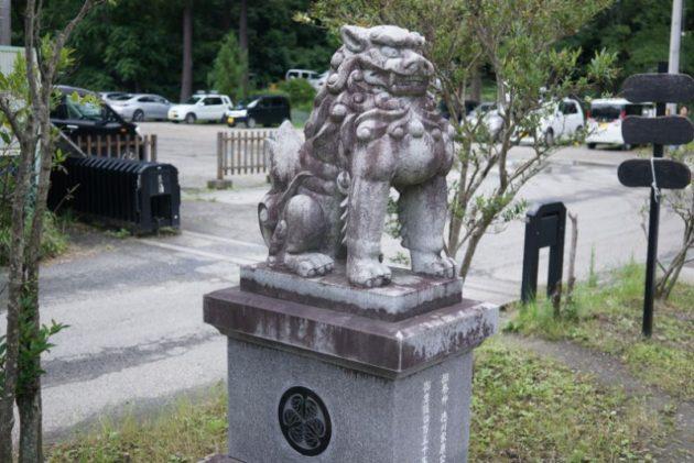 仙台東照宮の狛犬2