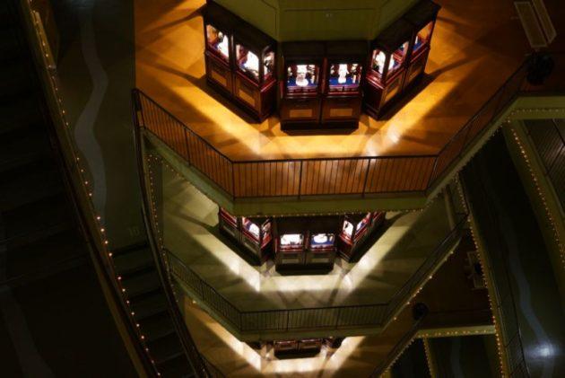 大観密寺・仙台大観音の摩天楼みたいな内部
