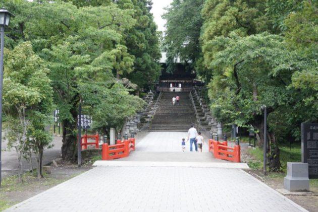 仙台東照宮の御神橋