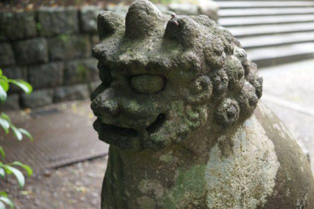 大崎八幡宮の狛犬1
