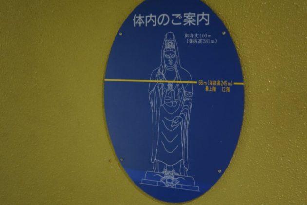 大観密寺・仙台大観音の最上階