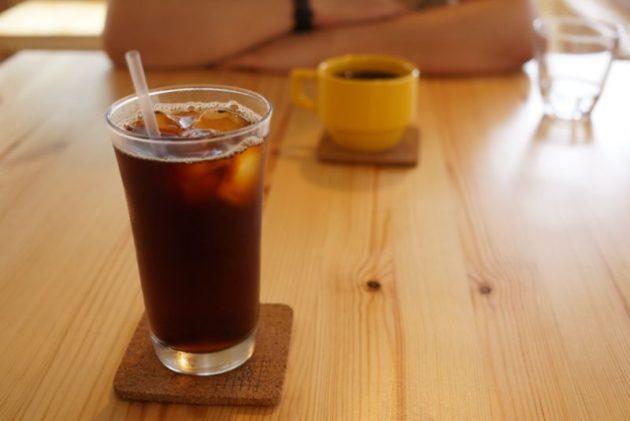 くじらのもりのセットのコーヒー