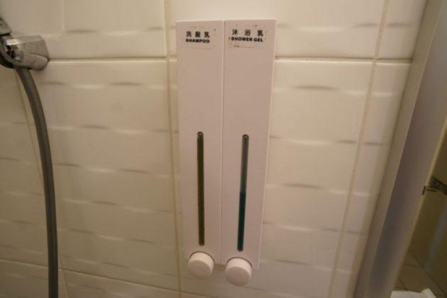 ザ メトロホテル (豪爵大飯店)の現地の人の匂いになれるシャンプー