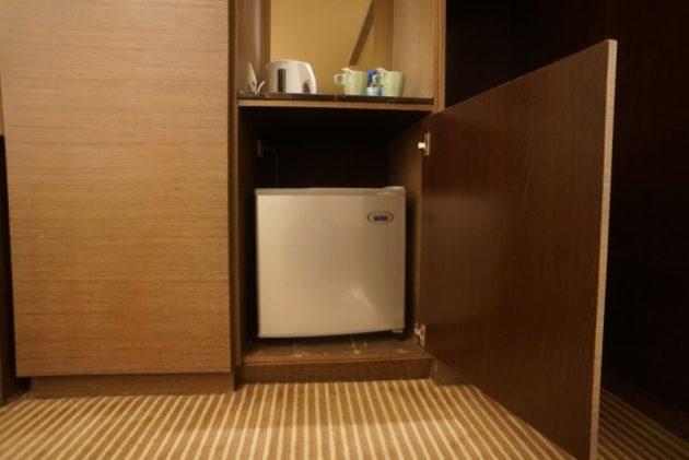 ザ メトロホテル (豪爵大飯店)の冷蔵庫