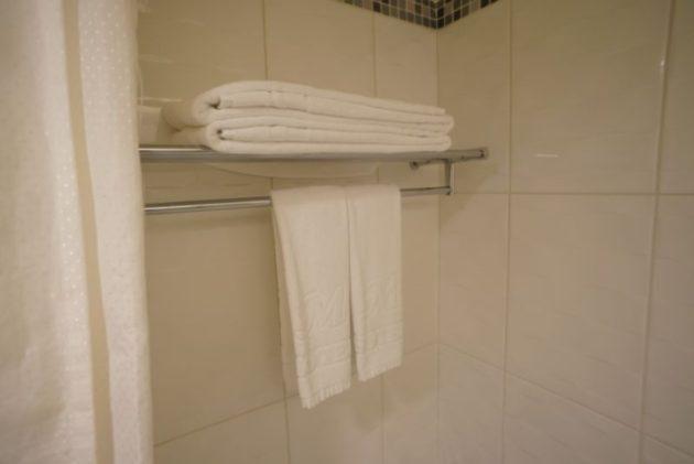 ザ メトロホテル (豪爵大飯店)のタオルは毎日取り替えてもらえるので清潔です