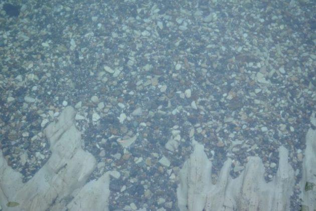 浄土ヶ浜の海はとても綺麗です