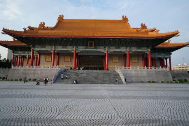 中正記念堂の国家遊戯院