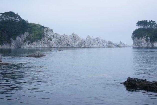浄土ヶ浜の白岩群